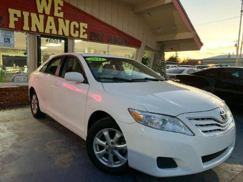 2011 Toyota Camry for sale at Caspian Auto Sales in Oklahoma City OK