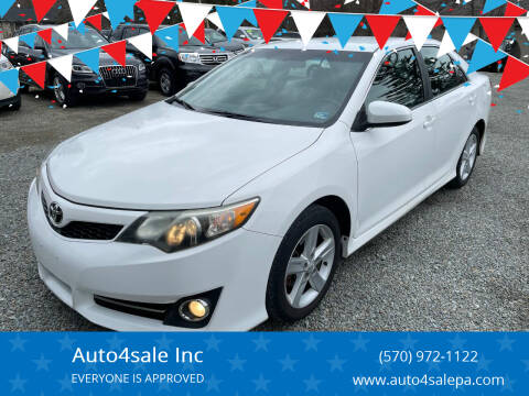 2012 Toyota Camry for sale at Auto4sale Inc in Mount Pocono PA