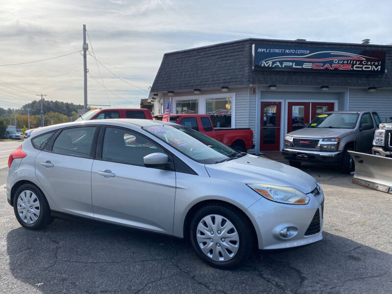 2012 Ford Focus for sale at Maple Street Auto Center in Marlborough MA