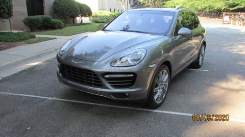 2012 Porsche Cayenne for sale at German Auto World LLC in Alpharetta GA