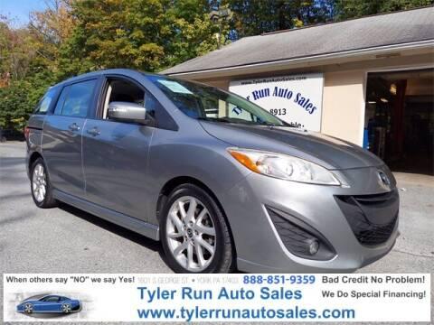 2013 Mazda MAZDA5 for sale at Tyler Run Auto Sales in York PA