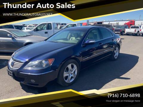 2005 Acura RL for sale at Thunder Auto Sales in Sacramento CA