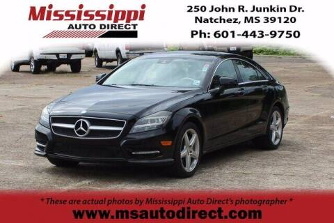 2013 Mercedes-Benz CLS for sale at Auto Group South - Mississippi Auto Direct in Natchez MS