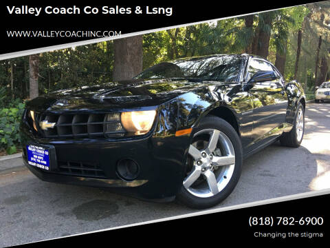 2010 Chevrolet Camaro for sale at Valley Coach Co Sales & Lsng in Van Nuys CA