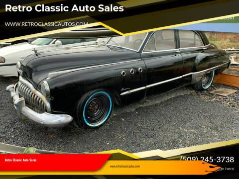 1949 Buick 50 Super for sale at Retro Classic Auto Sales - Classic Cars in Spangle WA