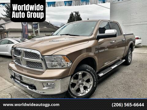 2011 RAM Ram Pickup 1500 for sale at Worldwide Auto Group in Auburn WA
