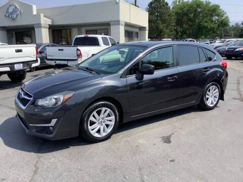 2016 Subaru Impreza for sale at Beutler Auto Sales in Clearfield UT