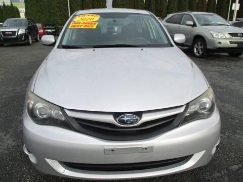 2010 Subaru Impreza for sale at GMA Of Everett in Everett WA