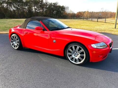 2005 BMW Z4 for sale at DLUX Motorsports in Fredericksburg VA