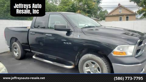 2010 Dodge Ram Pickup 1500 for sale at Jeffreys Auto Resale, Inc in Clinton Township MI