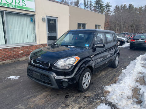 2012 Kia Soul for sale at Family Certified Motors in Manchester NH