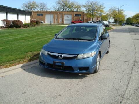 2010 Honda Civic for sale at ARIANA MOTORS INC in Addison IL
