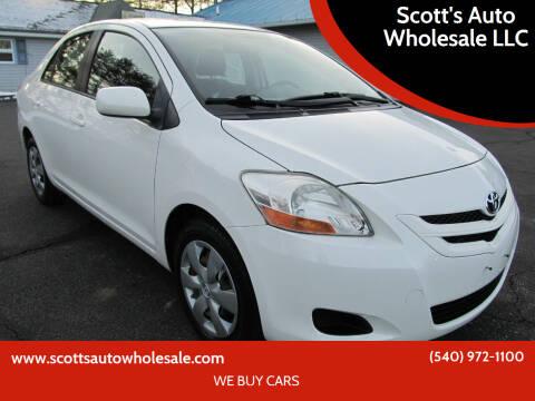 2007 Toyota Yaris for sale at Scott's Auto Wholesale LLC in Locust Grove VA