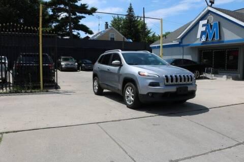 2015 Jeep Cherokee for sale at F & M AUTO SALES in Detroit MI