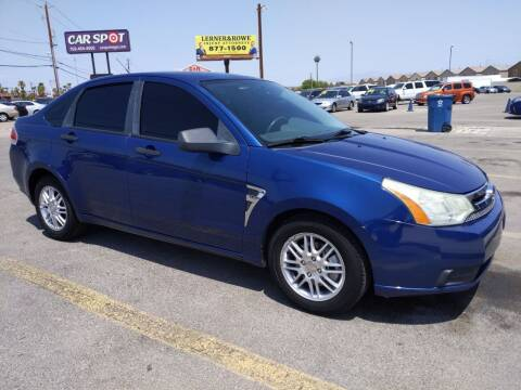 2008 Ford Focus for sale at Car Spot in Las Vegas NV