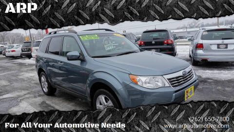2010 Subaru Forester for sale at ARP in Waukesha WI