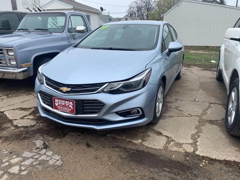 2017 Chevrolet Cruze for sale at Buena Vista Auto Sales in Storm Lake IA