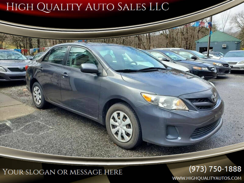 2011 Toyota Corolla for sale at High Quality Auto Sales LLC in Bloomingdale NJ