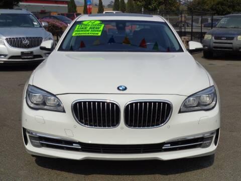 2014 BMW 7 Series for sale at Vallejo Motors in Vallejo CA