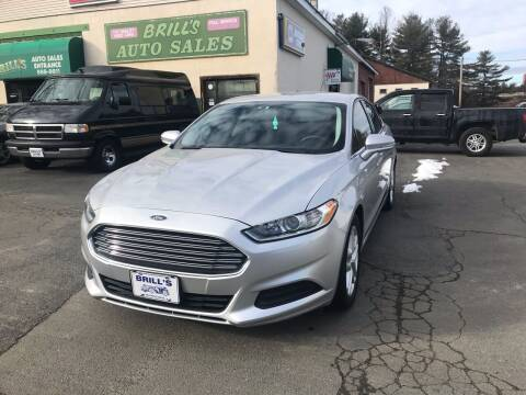 2016 Ford Fusion for sale at Brill's Auto Sales in Westfield MA