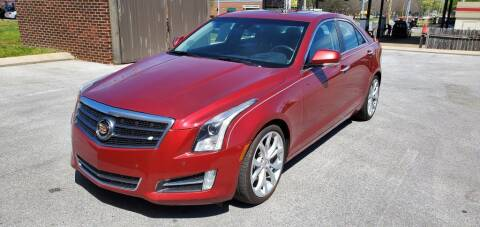 2014 Cadillac ATS for sale at Z Motors in Chattanooga TN