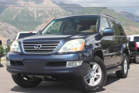 2004 Lexus GX 470 for sale at REVOLUTIONARY AUTO in Lindon UT