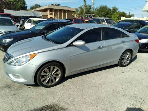 2012 Hyundai Sonata for sale at P S AUTO ENTERPRISES INC in Miramar FL