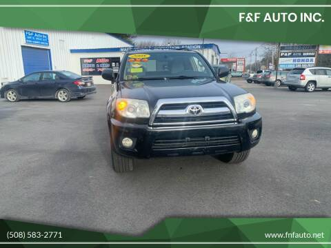 2008 Toyota 4Runner for sale at F&F Auto Inc. in West Bridgewater MA