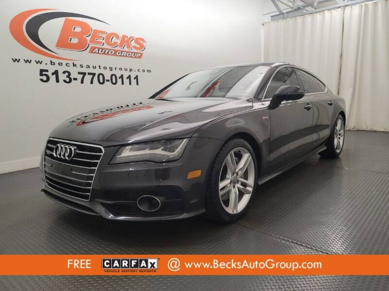 2012 Audi A7 for sale at Becks Auto Group in Mason OH