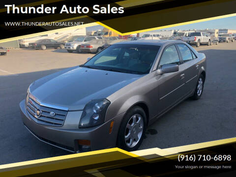 2003 Cadillac CTS for sale at Thunder Auto Sales in Sacramento CA