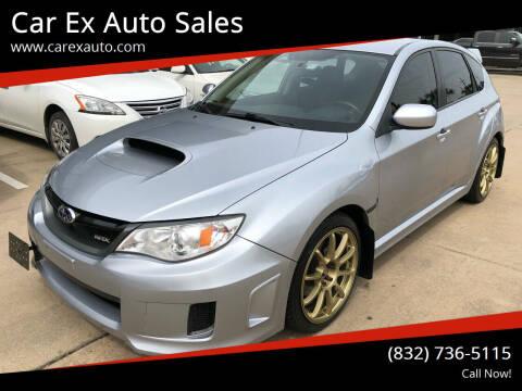 2013 Subaru Impreza for sale at Car Ex Auto Sales in Houston TX