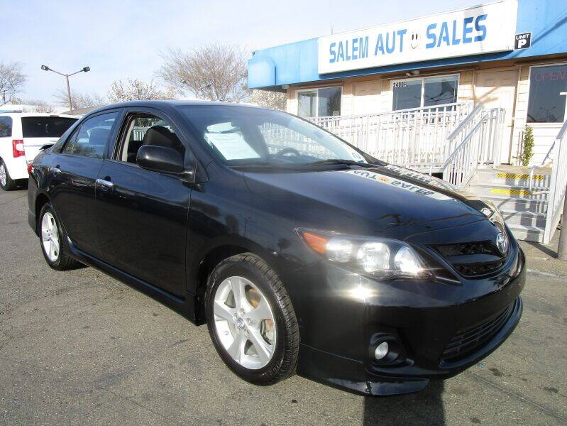 2012 Toyota Corolla for sale at Salem Auto Sales in Sacramento CA