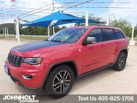 2017 Jeep Grand Cherokee for sale at JOHN HOLT AUTO GROUP, INC. in Chickasha OK