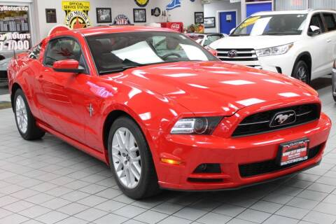 2014 Ford Mustang for sale at Windy City Motors in Chicago IL