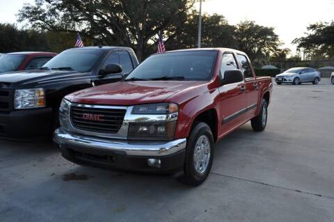2007 GMC Canyon for sale at STEPANEK'S AUTO SALES & SERVICE INC. in Vero Beach FL