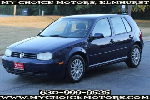 2003 Volkswagen Golf for sale at My Choice Motors Elmhurst in Elmhurst IL