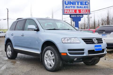 2004 Volkswagen Touareg for sale at United Auto Sales in Anchorage AK