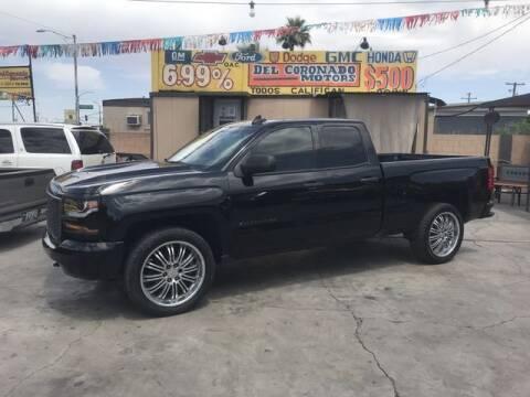 2016 Chevrolet Silverado 1500 for sale at DEL CORONADO MOTORS in Phoenix AZ