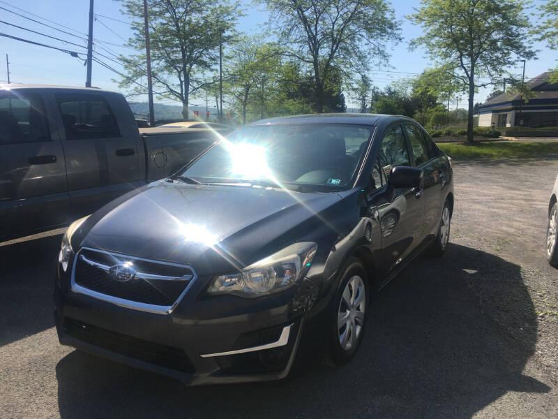 2015 Subaru Impreza for sale at K B Motors in Clearfield PA