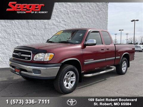 2002 Toyota Tundra for sale at SEEGER TOYOTA OF ST ROBERT in St Robert MO