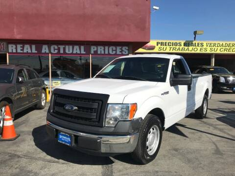 2014 Ford F-150 for sale at Sanmiguel Motors in South Gate CA