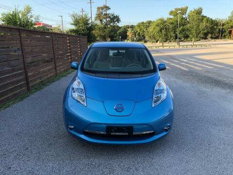 2012 Nissan LEAF for sale at Discount Auto in Austin TX