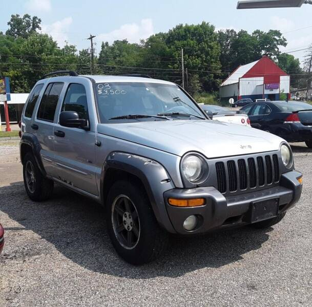 2003 Jeep Liberty for sale at TEMPLE AUTO SALES in Zanesville OH