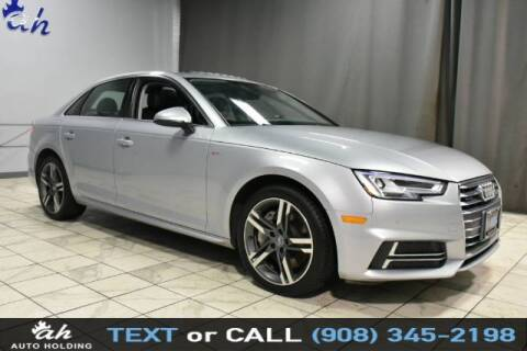 2018 Audi A4 for sale at AUTO HOLDING in Hillside NJ
