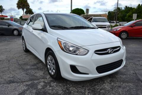 2015 Hyundai Accent for sale at Prado Auto Sales in Miami FL
