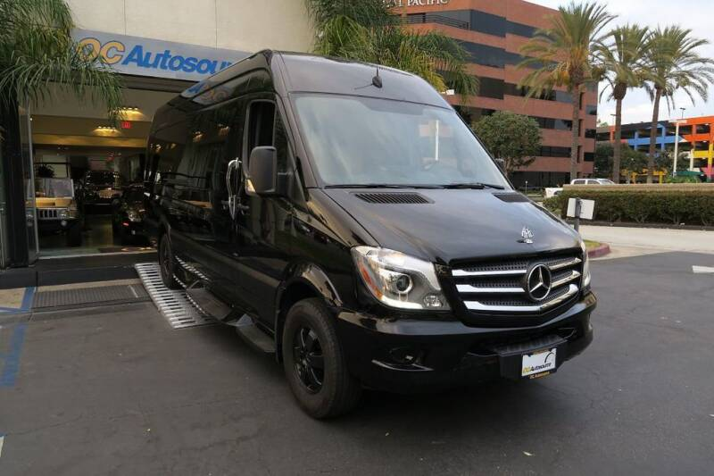 2015 Mercedes-Benz Sprinter Cargo for sale at OC Autosource in Costa Mesa CA