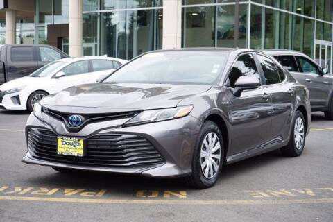 2018 Toyota Camry Hybrid for sale at Jeremy Sells Hyundai in Edmonds WA