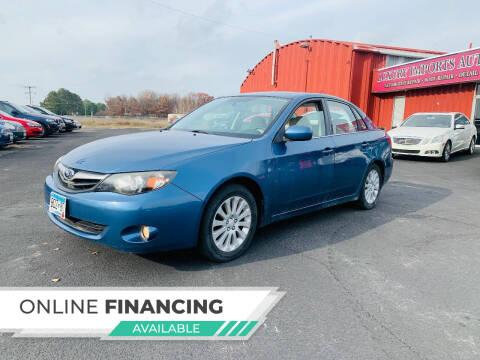 2010 Subaru Impreza for sale at LUXURY IMPORTS AUTO SALES INC in North Branch MN