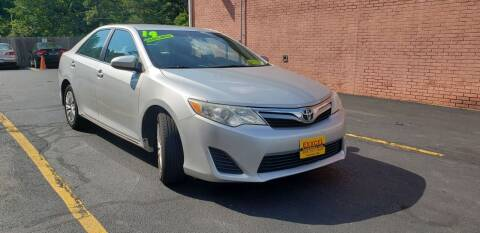 2014 Toyota Camry for sale at Exxcel Auto Sales in Ashland MA