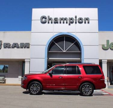 2016 Lincoln Navigator for sale at Champion Chevrolet in Athens AL